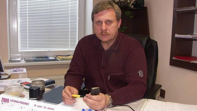 Citický starosta Josef Sháněl působí ve funkci čtyři roky