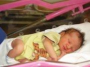 Terezka Valíčková z Oloví se narodila 1. dubna 2013, měřila 51 cm   a vážila 3,010 kg.