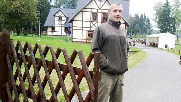 BÝVALÝ ředitel Loketských městských lesů Pavel Scheuer.