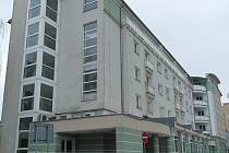 Bytový komplex Ohře kde sídlí i několik ordinací