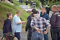 Záchranáři zahájili v úterý odpoleden pátrací akci.