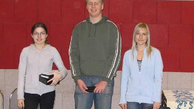 Jana Lorencová (vlevo) získala své další prvenství.