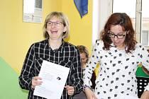 Sociálně terapeutické dílny chodovské Mateřídoušky navštívili klienti a vychovatelé z partnerského zařízení v Německu.