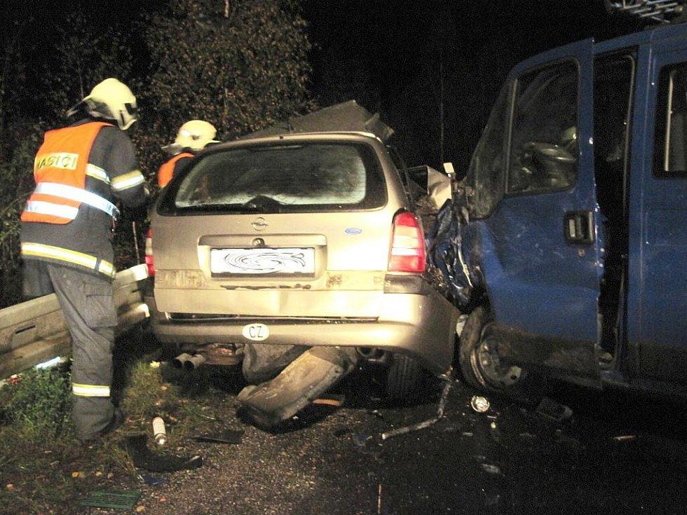 Tragická dopravní nehoda u Sokolova.