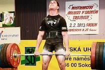 Jan More z Powerliftig Klatovy vytvořil v Sokolově dva české rekordy