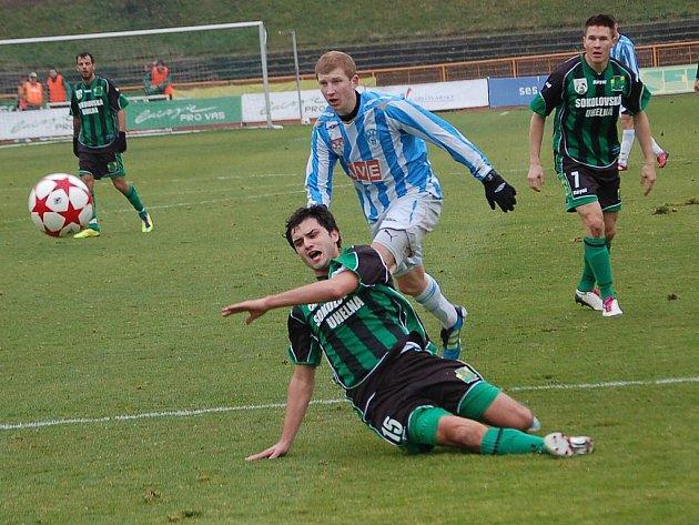 II. fotbalová liga: Sokolov si doma poradil s Čáslaví