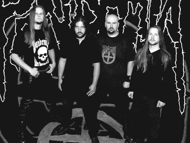 Chebská deathmetalová skupina Pandemia.