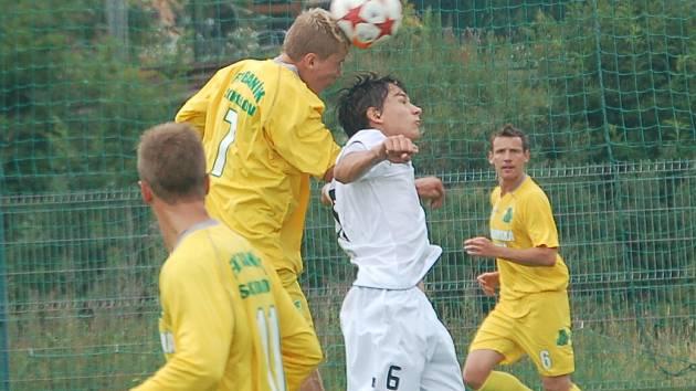 Fotbalová příprava v Královském Poříčí: Baník Sokolov - Baník Most