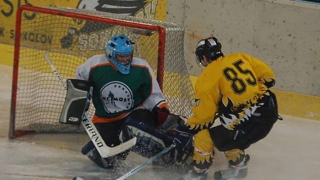 1. liga juniorů HC Baník Sokolov - HC Baník Most