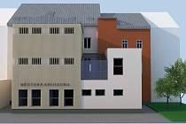 Prostory, ve kterých bude sídlit nová knihovna.
