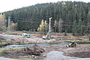 Stavba Anenské údolí