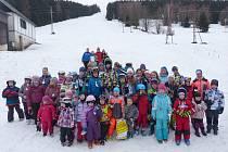 Lyžařskou sezónu završily ve Stříbrné hned dva závody.