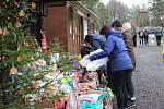 Desítky lidí dorazily na Vránov s dárky k Vánocům pro opuštěné pejsky.