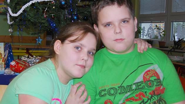 Dvojčata Karolína a Miroslav Ševčíkovi