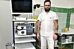 Nová endoskopická věž v sokolovské nemocnici.