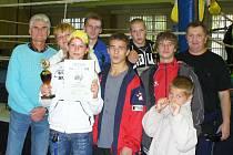 Sokolovská boxerská výprava na turnaji v německém Oelsnitz