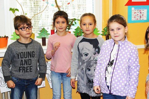 Žáčci 1.B ZŠ Sokolov, Švabinského
