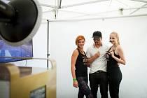 SMILEFIE se stává hitem plesů i kulturních akcí včetně mezinárodního filmového festivalu.