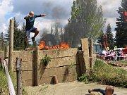 Extrémní překážkový závod Bahňák si letos zaběhli muži, ženy, děti, dorost i týmy.