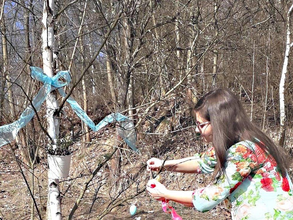 Stříbrná připravila stezku Tajemství Velikonoc pro děti i dospělé.