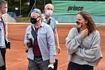 Nové zázemí pro tenisty ocenila i reprezentantka Markéta Vondroušová