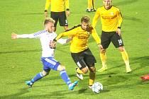 Fotbalová Fortuna liga: 1. SC Znojmo - FK Baník Sokolov (ve žlutém)