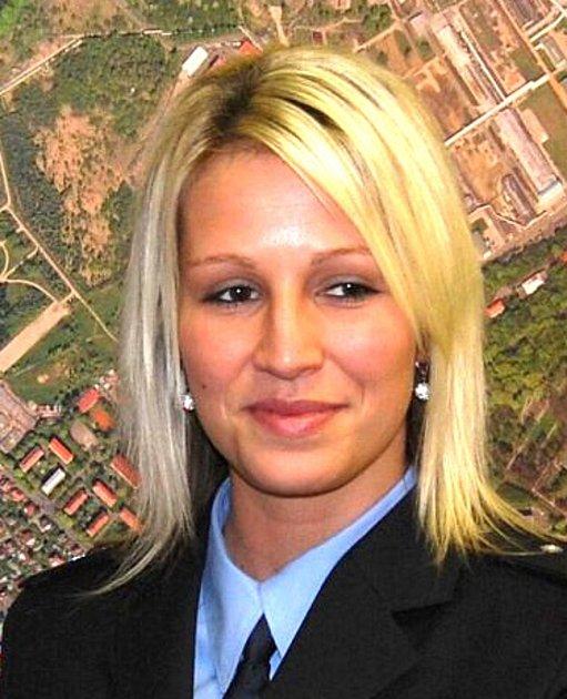 Kateřinu Krejčí, mluvčí policie.