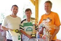 Nohejbalový turnaj v Březové vyhrálo trio z Lomnice.