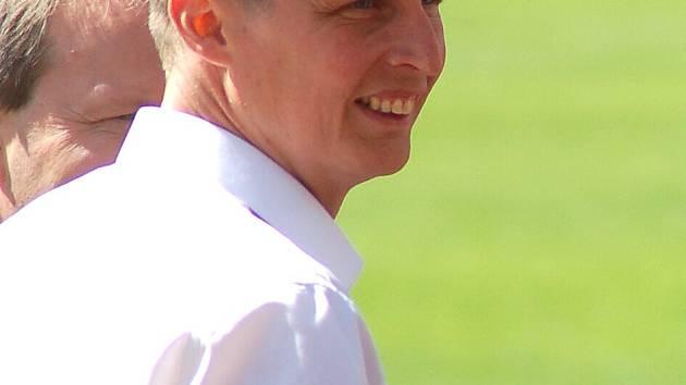 Ředitel FK Baník Sokolov Tomáš Provazník