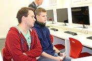 Zkušební videokonference za účasti partnerů projektu z české i německé strany  proběhla na ISŠTE Sokolov.