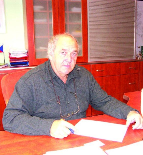 Starosta Lomnice Miloslav Matoušek
