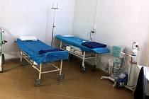 Nemocnice v Sokolově se chrání. Zřídila speciální příjem. Foto: Nemocnice Sokolov
