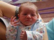 TOBIAS JANDA z Rovné se narodil 4. dubna