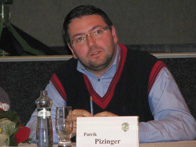 NOVÝ místostarosta Chodova Patrik Pizinger.