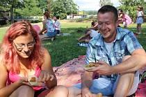 """Vegget v Kynšperku je akce, kde i """"masožravci"""" přicházejí na chuť vegetariánské stravě."""