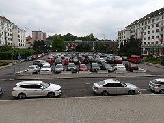 Náměstí Budovatelů Sokolov