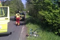 BĚHEM neděle vyjeli záchranáři ke třem nehodám poraněných cyklistů. Obešly se bez vážných zranění.