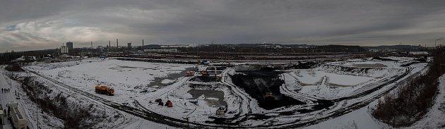 Toxické kaly zostravských lagun se spalují na Sokolovsku.