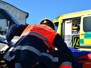 Záchranáři v kraji evidují nárůst počtu výjezdů kvůli kolapsům. Více se také bourá.