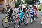 Příměstský tábor DDM Sokolov Stezkou netradičně je sportovně zaměřený.