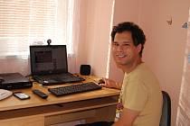 Jeden z klientů Chráněného bydlení v Sokolově Vincent Badi