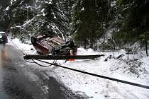 Nehoda u Tatrovic.