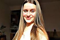 Vítězka soutěže Sokolov má talent Lucie Večeřová.