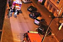 V DOMĚ v ulici Pod Nádražím vyděsil obyvatele kouř linoucí se ze sklepních prostor