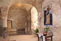 Obnovená kaple sv. Tří králů.