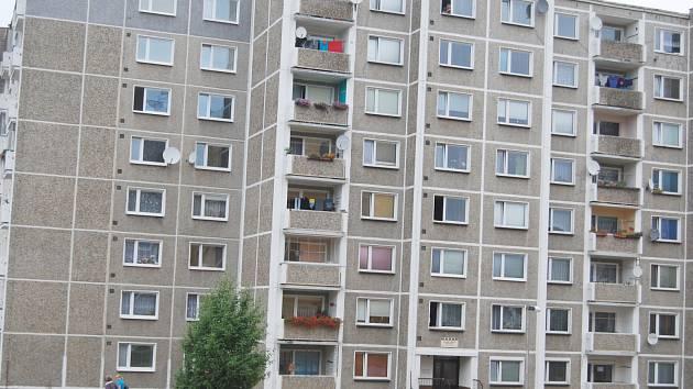 Sídliště Vítězná v Sokolově