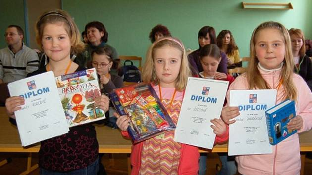 Mladí čtenáři z celého kraje soutěžili v Kynšperku.