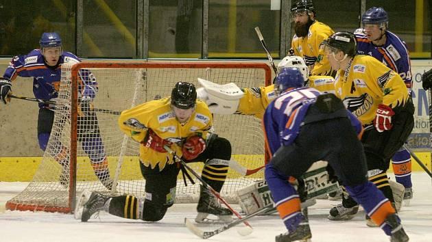 II. hokejová liga: Sokolov vs. Řisuty