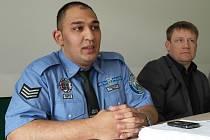 Řady strážníků rozšířil sedmadvacetiletý Patrik Bandy