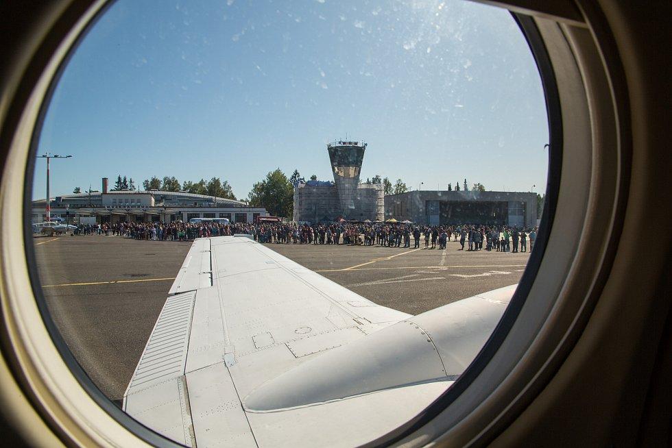 Den karlovarského letiště připomene významné výročí.